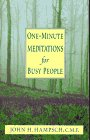 img - for One-Minute Meditations for Busy People book / textbook / text book