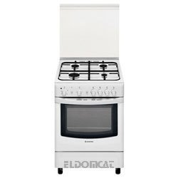 Hotpoint-ariston cucina 60x60 4f/gas forno gas con grill bianca ...