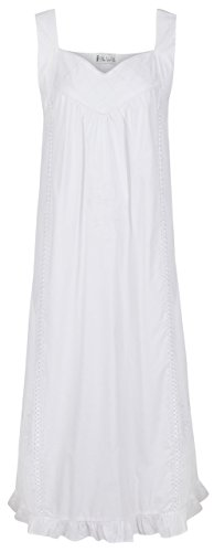 (The 1 for U 100% Cotton Nightgown Vintage Design - Nancy (XL))