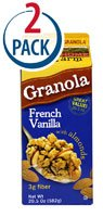 Sweet Home Farm Granola French Vanilla -- 20.5 oz Each / Pack of 2