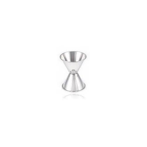 Jiggers Shot Pourer Measuring Tool For Bar Good For Cocktail Drinks Stainless Steel 1 & 2 (Stainless Steel Pourer)