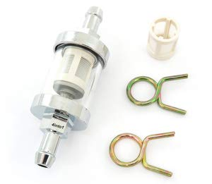 Clear Glass Fuel Filter - - Fuel Vintage Injection