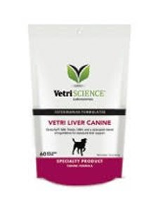 Vetri-Liver Canine - 60 Bite-Sized Chews by Vetri-Science Laboratories