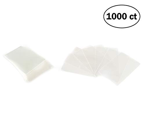 1000 Card Sleeves for Gloomhaven Board Games 44mm x 68mm Great Fit for for Mini European Cards