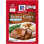 McCormick Gravy Mix Brown, .87 OZ (Pack of 12)