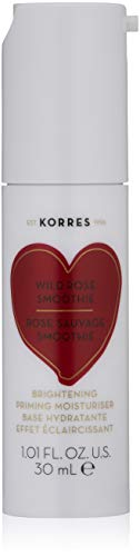 KORRES Wild Rose Smoothie Brightening Priming Moisturiser, 1 fl. oz.