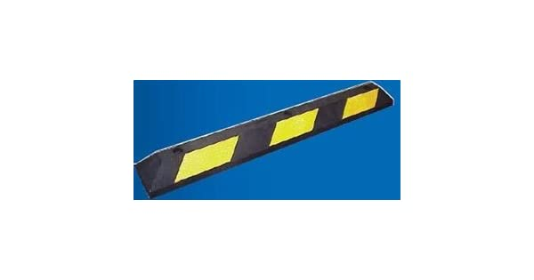 3 Cortina Safety Products 2057PB Striped Yellow Parking Block