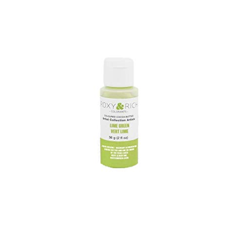 Chocolats Roxy & Rich Cocoa Butter - 2 oz - Lime Green