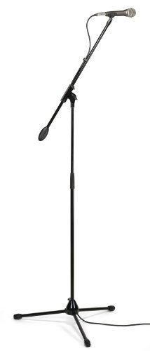 Q7 Cardioid Dynamic Microphone - Samson Q7VP Complete Dynamic Mic System with Q7 Mic, Boom Stand, Clip, Cable and Bag