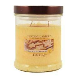 Tuscany Candle Grandmas Sugar Cookies Scented Wax Mottled Jar Candle 11 Oz