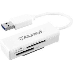 Aluratek AUCR300F Flash Reader - Secure Digital Card, microS