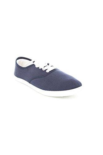 Zapatos Soho Zapatillas De Lona Clásicas Para Mujer Zapatillas De Tenis Azul Marino