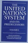 The United Nations System and Its Predecessors Vol. I, , 0198764480