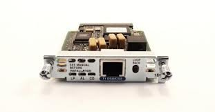 - Cisco T1 DSU/CSU WIC Network Interface Card Module- 73-2850-05