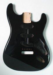 Göldo Body US Red Alder Rojo Aliso Negro Cuerpo Guitarra ...