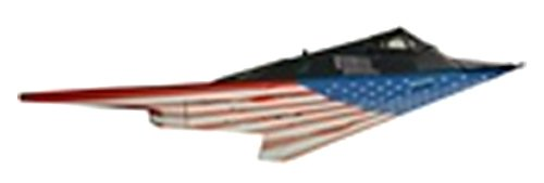 Model Power 53861 1/150 DC F117 Stealth,Stars And Stripes