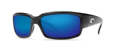 Costa Del Mar Caballito Polarized Sunglasses, Black, Blue - Del Mar Hammock Sunglasses Costa