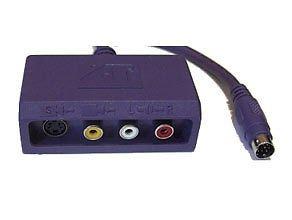 ATI 6140004600 All-In-Wonder A/V S-Video, RCA A/V inputs Adaptor