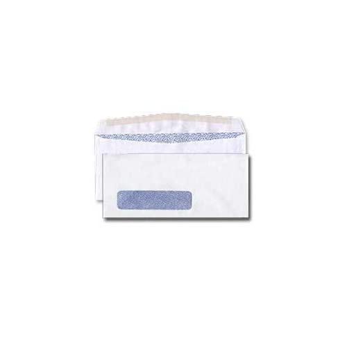 #10 Single Window Envelope - Tinted - 24# White (4 1/8 x 9 1/2) - Business Window Series (OSSS) (Box of 250)