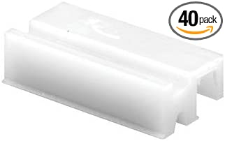 Amazon Com Crl G3100b 3 8 Wide Nylon Sliding Window Bottom Guide For Alenco Windows Bulk 40 Pack Home Improvement