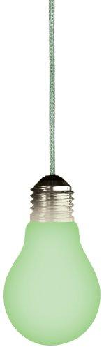 Glow in the Dark Lightbulb Shaped Novelty Light Fan Pull (Glow In The Dark Fan Pull Chain)