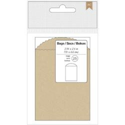 Bulk Buy: American Crafts  Mini Bags 3.94in. x 2.6in. 25/Pkg