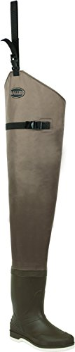 Hip High Waders (Allen Company Clear Creek Hip Boot Wader with Endura Upper, Felt Sole (Size 12))