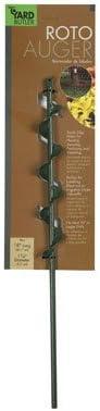 [해외]Yard Butler 18 in. Roto Auger Steel Handle - Case of: 1 / Yard Butler 18 in. Roto Auger Steel Handle - Case of: 1