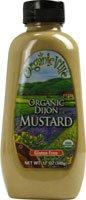 Organicville Organic Dijon Mustard -- 12 oz Organic Vegan Mustard