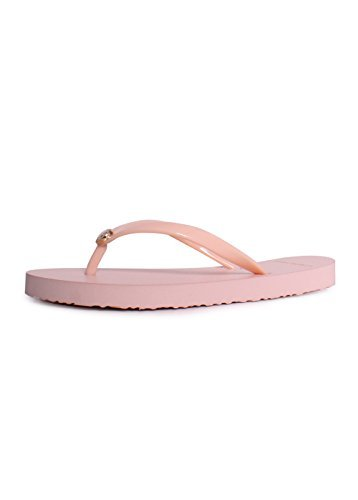 Tory Burch Solid Thin Flip Flop Sandals in Perfect Blush Siz