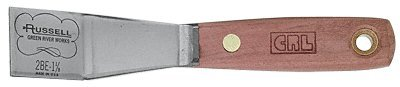 CRL Russell 1-1/8 in Stiff Bent Putty Knife