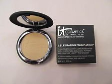 It Cosmetics Celebration Foundation in Medium (Medium Beige) .30 Ounce Compact