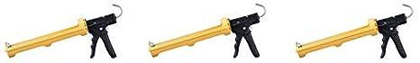 Cartridge Capacity Dripless ETS5000 Industrial Grade Heavy Duty Caulking Gun 1//4-gal 18:1 Thrust Ratio Inc.