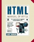 HTML Manual of Style, Larry Aronson, 1562763008