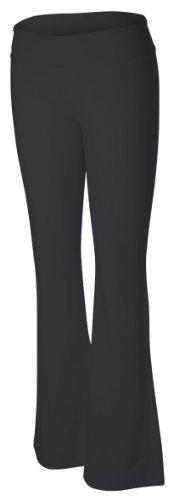 Bella womens Cotton/Spandex Fitness Pant(810)-BLACK-M