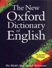 The New Oxford Dictionary of English.