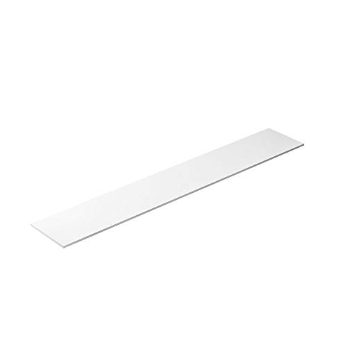 True Equivalent 72 x 12 x 1/2 Cutting Board Replacement, NSF Poly for Commercial Refrigeration Equipment