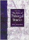 Book The Basics of Paralegal Studies