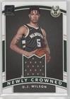 D.J. Wilson (Basketball Card) 2017-18 Panini Donruss - Newly Crowned Rookie Jerseys #NC-DW.1