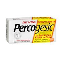 (Percogesic Aspirin-free, Pain Reliever, Fever Reducer Tablets, Original Strength - 50 Ea (Pack of 5) by Percogesic)