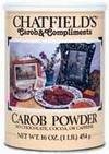 Powder, 100% Carob, Unswtn, 16 oz (pack of 12)