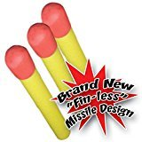 Blast Pad 3-Piece Replacement Foamies Missiles