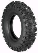 Rotary # 8919 Lawnmower Tire 480 x 400 x 8 Snow Hog Tread Tubeless 2 Ply Carlisle Brand