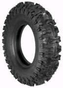 2 Ply Snow Hog - Rotary # 8919 Lawnmower Tire 480 x 400 x 8 Snow Hog Tread Tubeless 2 Ply Carlisle Brand