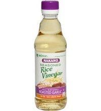 Nakano Vinegar Rice Garlic 6 Pack (3 Pack (6 Count)) by Nakano