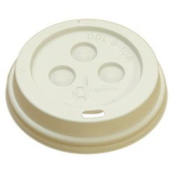 Boardwalk BWK 8DOMELID Plastic Dome Lid For 8 oz Paper Hot Cup