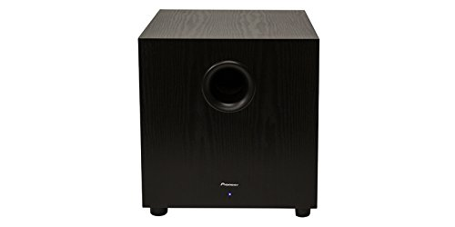 Pioneer SW-10 400W Powered Subwoofer, Black 3