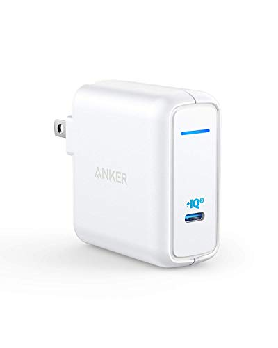 Anker 60W [PowerIQ 3.0 & GaN] Power Delivery USB C Charger, PowerPort Atom III 60W Ultra Compact Type C Charger for USB-C Laptops, MacBook Pro/Air, iPad Pro, iPhone XR/XS/Max/8, Galaxy, Pixel