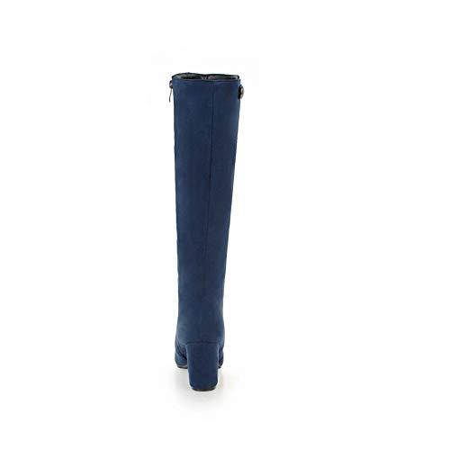 AdeeSu AdeeSu Zeppa SXC02959 35 Donna Blue Sandali con EU Blu zazxRwrqt