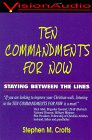 img - for Ten Commandments for Now book / textbook / text book